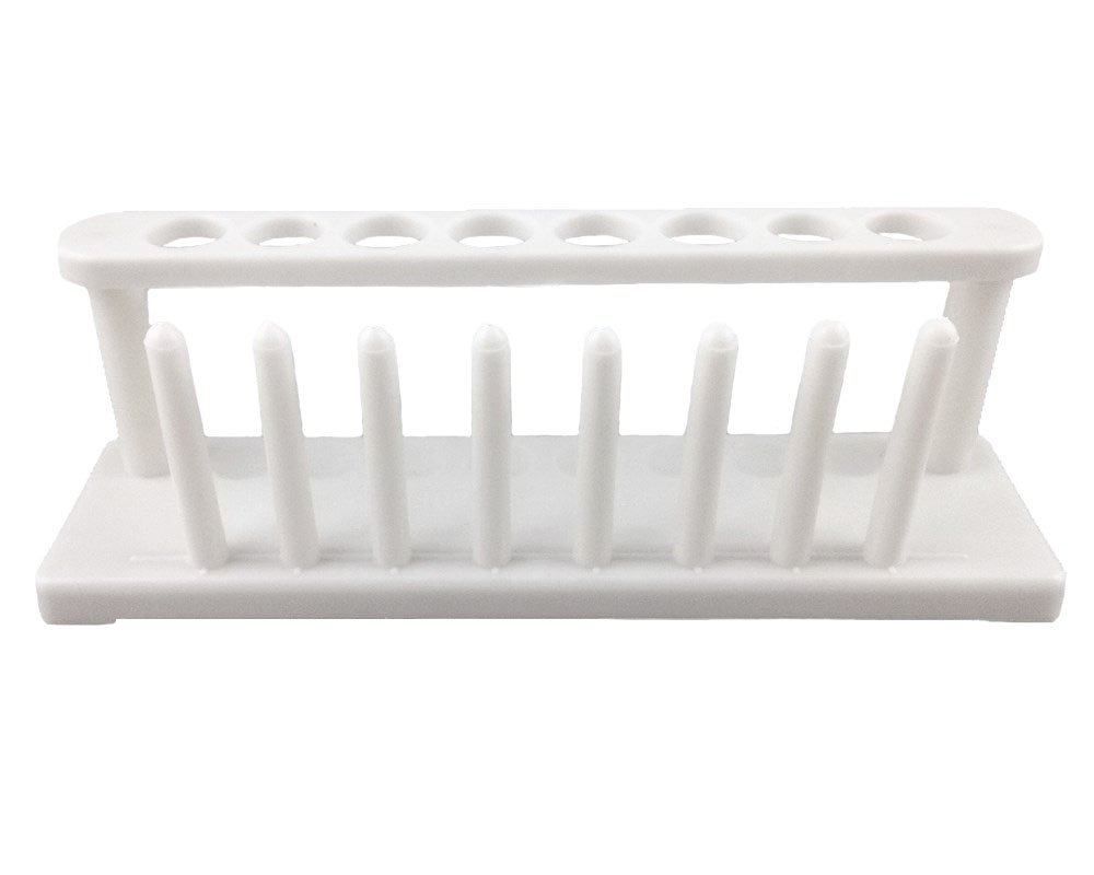 Our shop most popular Honbay 8-Well Plastic Test Tube OFFicial site School Lab Rack Scientific