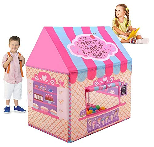 Ydq Kids Dessert Baking Room Play Tent | Baby Ball Pit | Playpen Toy | Den for Indoor Outdoor Garden for Children Camping Picnic Travel