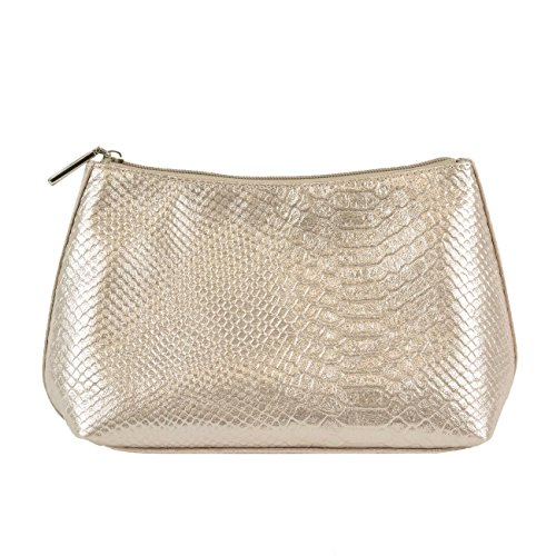 Philips Cosmetic Pouch, Gold Snake, 0.32 Pound