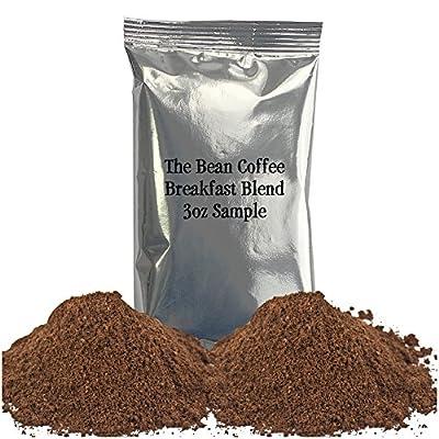 The Bean Coffee Company Organic Breakfast Blend, Light Roast, Ground, 16-Ounce Bag