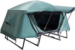 JQDZX Campingtält utomhus marktält vindtätt regntätt anti-UV dubbelskikt? tält kan förhindra insekter stenar och fukt, för...