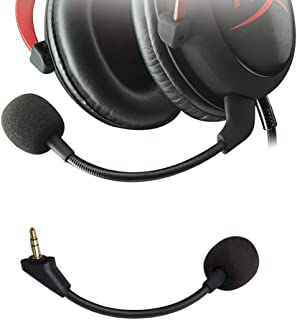 Ninge HyperX Replacement Mic 3.5mm Game Microphone Boom for HyperX Cloud Alpha CloudX Core Gaming Headset