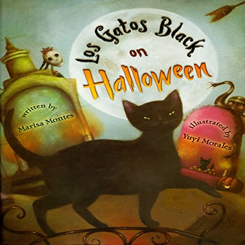 Los Gatos Black on Halloween audiobook cover art