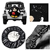 Spare Tire Cover Mickey Mouse Universal Waterproof Dust-Proof Wheel Covers