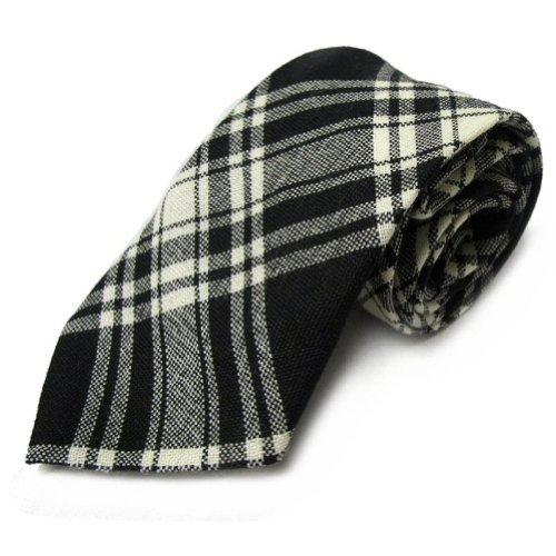 Krawatte im Menzies-Muster - 100% Wolle - Hergestellt in Schottland