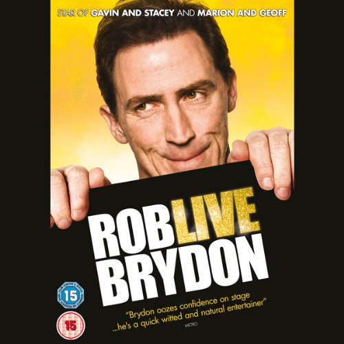 Rob Brydon Live cover art