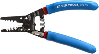 Klein Tools 11053 Klein-Kurve Wire Stripper and Cutter for 6-12 AWG Stranded Wire, 7-1/8-Inch