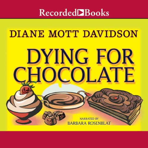 Dying for Chocolate audiobook cover art