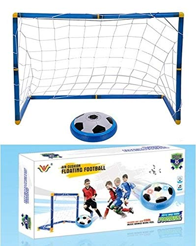 TOY-STATION Magic Hover Football Toy Indoor Play Game - with 2 Goal Posts - Best Toy for Kids (Magic Hover Football Toy Indoor Play Game - with 1 Goal Posts - Best Toy for Kids)