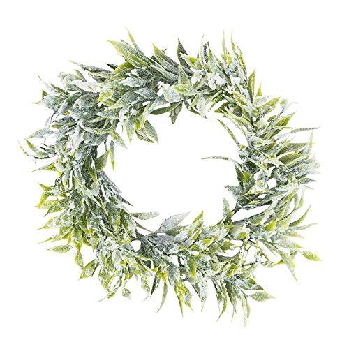 Ideen mit Herz Deko-Kranz | Weihnachten & Winter (Blätter - Ø14cm)
