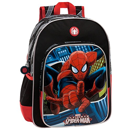 MARVEL Spiderman Set de Sac Scolaire, 40 cm, Bleu 2452351