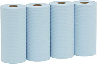 WYPALL X50 Small Roll Wipers, Blue, 70m/Roll, Case of 4 Rolls