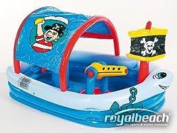 Planschbecken Piratenpool mit Splashfunktion