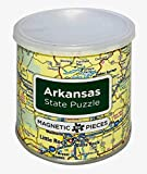 Geo Toys Arkansas State Magnetic 100 Piece Jigsaw Puzzle…