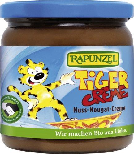 Crema de chocolate y nueces 'TIGER' BIO 400 g - RAPUNZEL