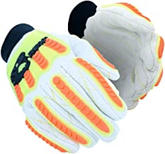 MAGID T-REX Primal Series TRX105 Cotton Blend Palm Impact Glove   Cut Level A2, Size 10/XL