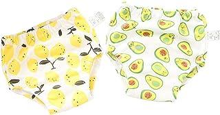 Morbuy-Shop, Pantalones de Entrenamiento para Bebé, Morbuy Reusable Calzones de Entrenamiento Ropa Interior de Entrenamiento Bragas de Aprendizaje para Niño Niña, 2 Piezas