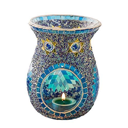 Duftlampe Teelicht - Duftlampen Aromalampen Aus Exquisites Glas, Kerzenhalter, Aromalampe Teelichthalter Duftlampe Für Wachsschmelzen Und Ätherische Öle