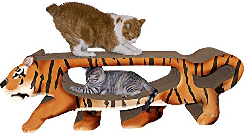 Imperial Cat Giant Tiger Scratch and Shape by Cat Claws Inc. DBA Imperial Cat (English manual)
