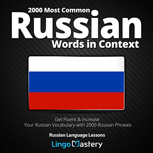 『2000 Most Common Russian Words in Context』のカバーアート