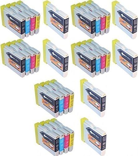 Start - 30 Ersatz Patronen kompatibel zu LC970 / LC1000 für Brother DCP-130C, DCP-330C, DCP-350C, DCP-353C, DCP-357C, DCP-535CN, DCP-540CN, DCP-560CN, DCP-680CN, DCP-750CW, DCP-770CW, MFC-240C, MFC-3360C, MFC-440CN, MFC-465CN, MFC-5460CN, MFC-5860CN, MFC-660CN, MFC-665CW, MFC-680CN, MFC-685CW, MFC-845CW, MFC-885CW und weitere