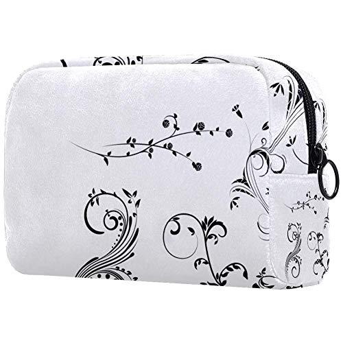 Floral-Mega-Pack-3-SampleSmall Trousse de maquillage pour sac à main Voyage Maquillage Mini Sac à cosmétiques pour femme