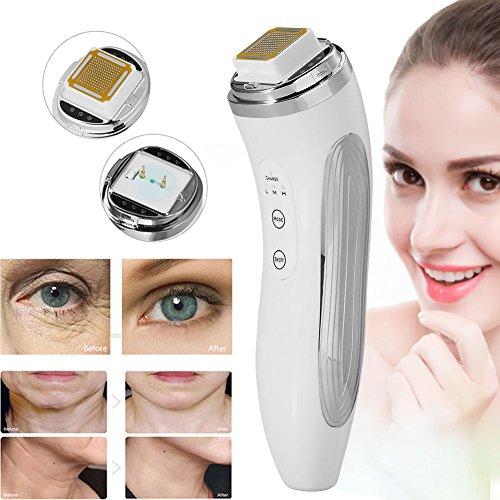 RF Radio Frequenz Schönheitsgerät, Falten Remover Gesicht Gerät für Hautstraffung Anti-Aging Hautverjüngung, geeignet für Alltägliche Gesichtspflege Doppelkinn Augenbeutel, (für 30+)