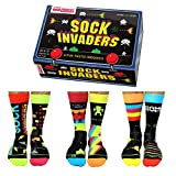 Sock Invaders United Oddsocks - 6 calcetines Oddsocks para hombre, multicolor