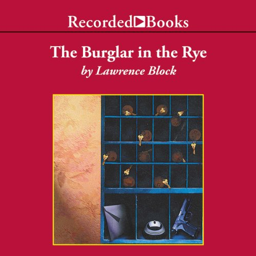 The Burglar in the Rye audiobook cover art