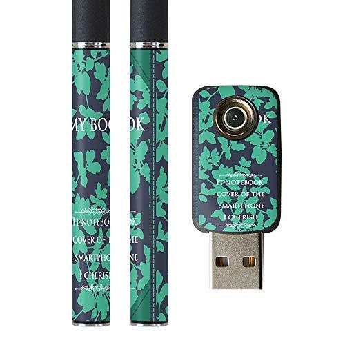 igsticker プルームテック Ploom TECH 専用スキンシール バッテリー スティック USB充電器 カバー ケース 保護 フィルム ステッカー スマコレ 011345 本 英語 おしゃれ