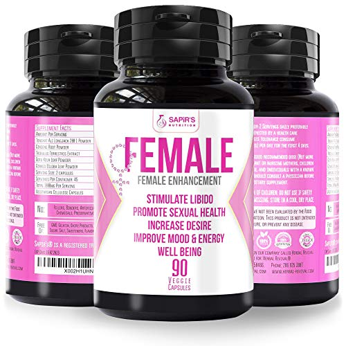 Female Libido Supplement for Women - Enhancement Pills for Women - Natural Herbal Balance Complex for Women – 90 Capsules Of Pure Energy, Stamina, Performance 2000mg Daily Pills