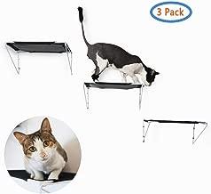 RayCC Cat Shelves Cat Steps Cat Perch Cat Cloud Cat Bed Wall-Mounted Cat Furniture Great for Cat Climbing(Set of 3)