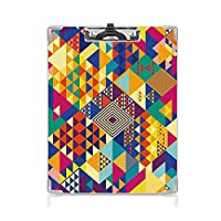 クリップボード Colorful プレゼントA4 バインダー 用箋挟 クロス貼 A4 短辺とじ