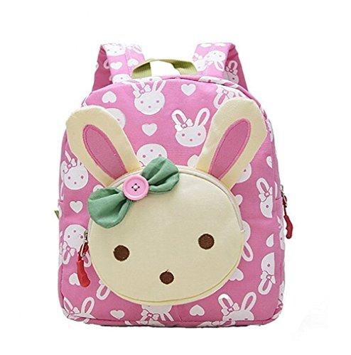 DNFC Kindergartenrucksack Kindergartentasche Babyrucksack Kinderrucksack Schöne Kindertasche Kindergarten Schulrucksack Kleinkinder Rucksack Kinder Schultasche Backpack (Rosa)