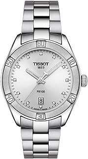 Tissot Ladies PR 100 Watch 36mm Stainless Steel 12 Diamonds T101.910.11.036.00
