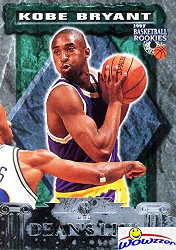 Kobe Bryant 1996/97 Scoreboard Basketball Rookies DEAN'S LIST Silver Insert ROOKIE Card! Los Angeles Lakers Future Hall of Famer! Shipped in Ultra Pro Top Loader! WOWZZER!