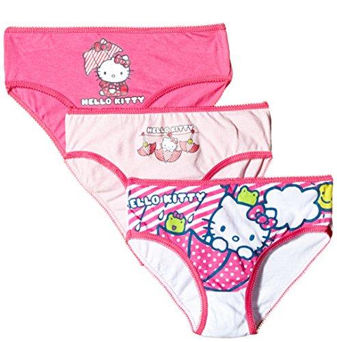 Sanrio Hello Kitty Slip, Multicolore, 8 Anni Bambina