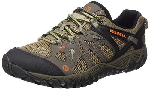 Merrell Men's All Out Blaze Aero Sport Hiking Water Shoe, Khaki, 11 M US