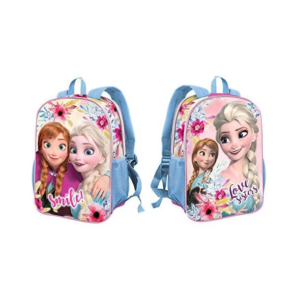 51eHM24r LL. SS600  - Karactermania Frozen Smile-zaino Dual (Piccolo) Mochila Infantil, 32 centímetros 9.25, Multicolor