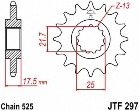 JT Sprockets FRONT SPROCKET JTF287-15 # JTF287.15 NEW