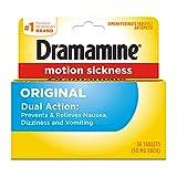 Dramamine Motion Sickness Relief Original Formula