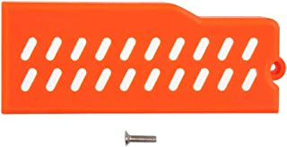 WORKER Mod F10555 Extended LiPo Battery Cover 3D Printed for Nerf Stryfe Toy (Orange)