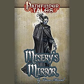 Misery's Mirror audiobook cover art