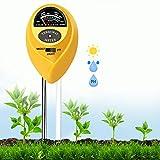 Soil pH Meter, 3-in-1 Soil Test Kits pH Moisture Meter Plant Water Light Tester,...
