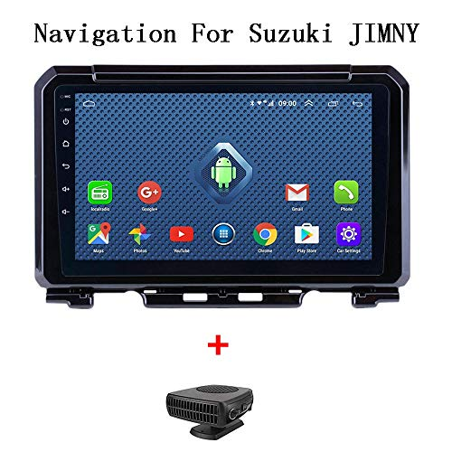 XBRMMM Seicane 9 Zoll Android 8.1 Autoradio Für Suzuki JIMNY 2019 2Din GPS Navigation Multimedia Player Unterstützung DVR AUX WiFi OBDII SWC, Fahrzeug GPS Navigation Für Auto, Car Systems