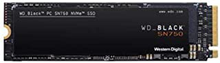 WD_Black SN750 2TB Gen3 PCIe M.2 2280 NVMe Internal Gaming SSD, Centimeters, WDS200T3X0C