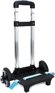 Free2mys Kids Aluminium Alloy Folding Trolley Cart with Light up Wheel
