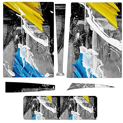 Pintura al óleo abstracta PS5 (versión de unidad óptica) para consola y...