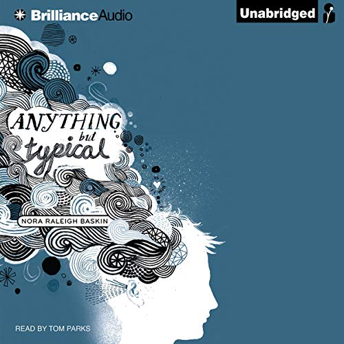 Anything but Typical audiobook cover art
