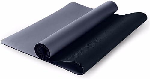 MDRW-Amateurs De Yoga Caoutchouc Naturel Mat Pilates Yoga Anti Slip Pad Tyran Sweat Super Slim Senior Pilates Yoga Mat 183  68Cm Tapis De Yoga